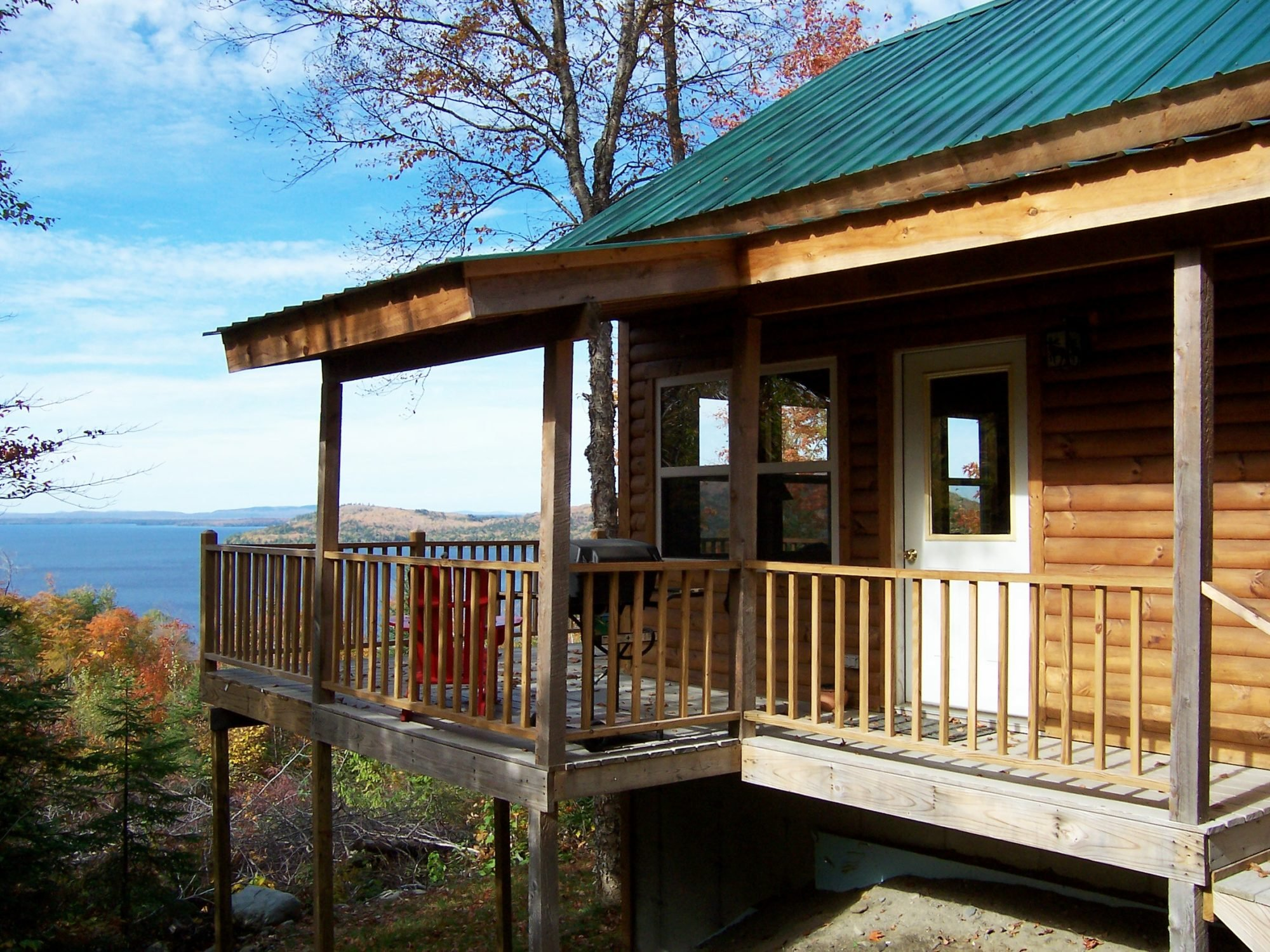Moosehead Hills Cabins Rustic Luxury Log Cabin Rentals