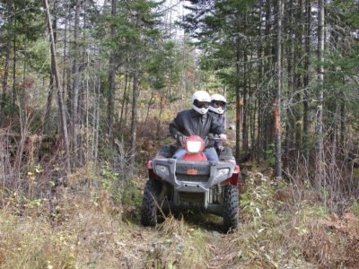 Bob Hamer Moosehead Region ATV-105